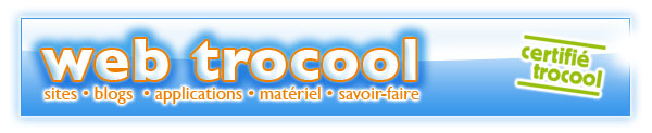 web trocool : blogs et sites internet