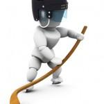 roller hockey joueur