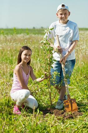 jardiner avec mes enfants