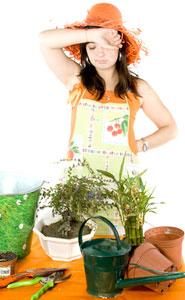 enfant jardinier