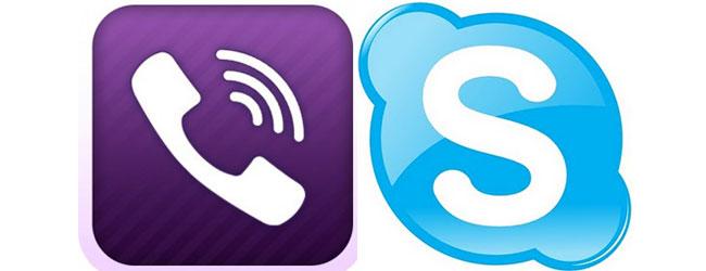 Skype ou Viber ?